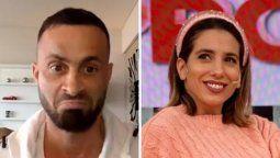 ¡Cuánto botox! Cinthia Fernández reaccionó ante el nuevo rostro de Martín Baclini