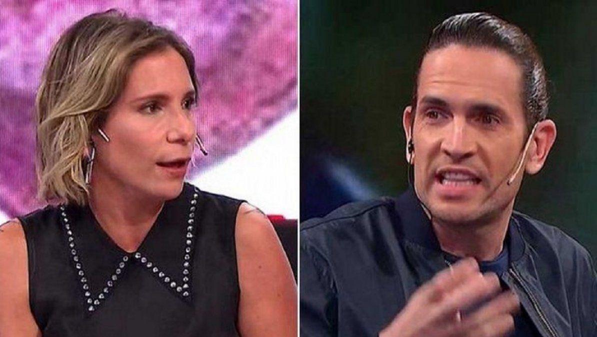 El tras cámara de la pelea entre Diego Ramos y Ángela Lerena en TV Nostra