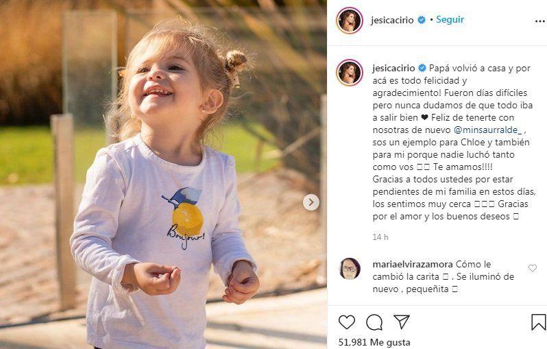 Jesica Cirio Instagram