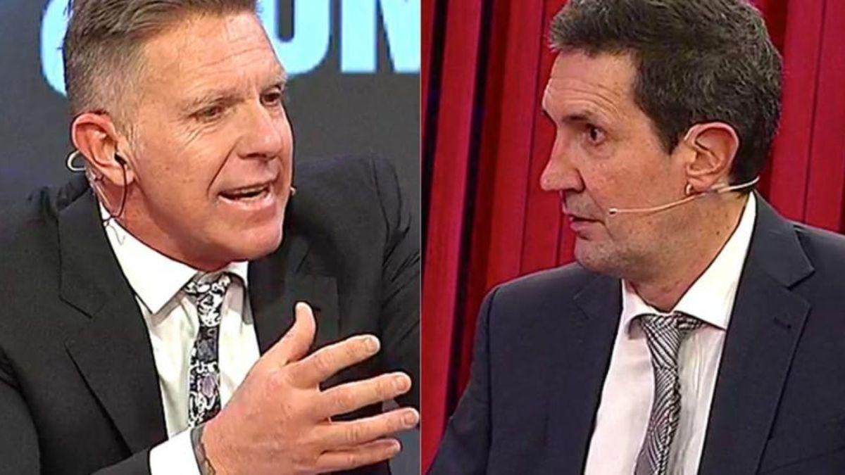 Alejandro Fantino y Miguel Simón protagonizaron una fuerte pelea al aire