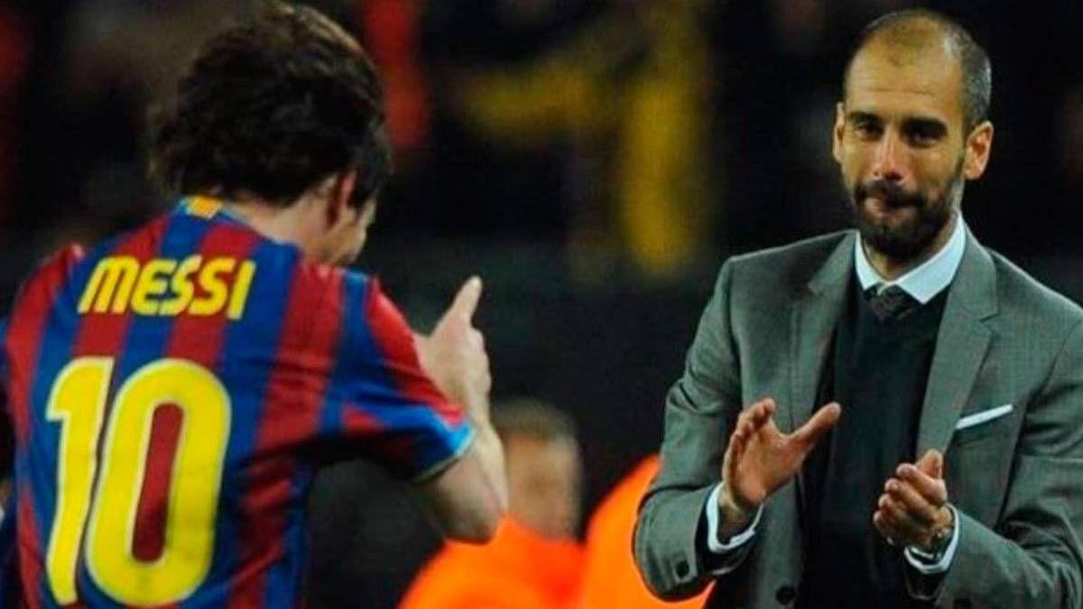 ¿Será una señal? El contrato de Pep Guardiola que atrae a Lionel Messi