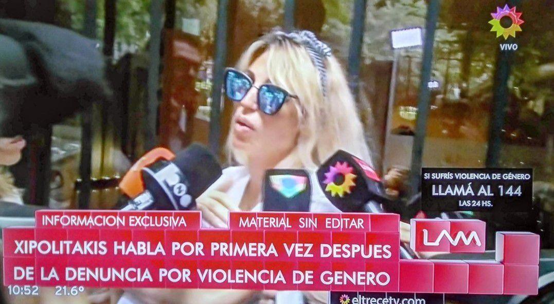 Después de la denuncia por violencia, habló Vicky Xipolitakis: Necesito paz