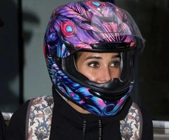 El look motoquero de Juana Viale que sorprendió a todos