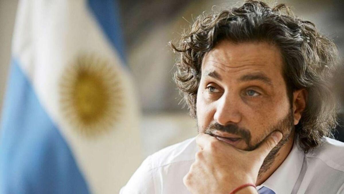 Santiago Cafiero acusó de burro a Luis Novaresio