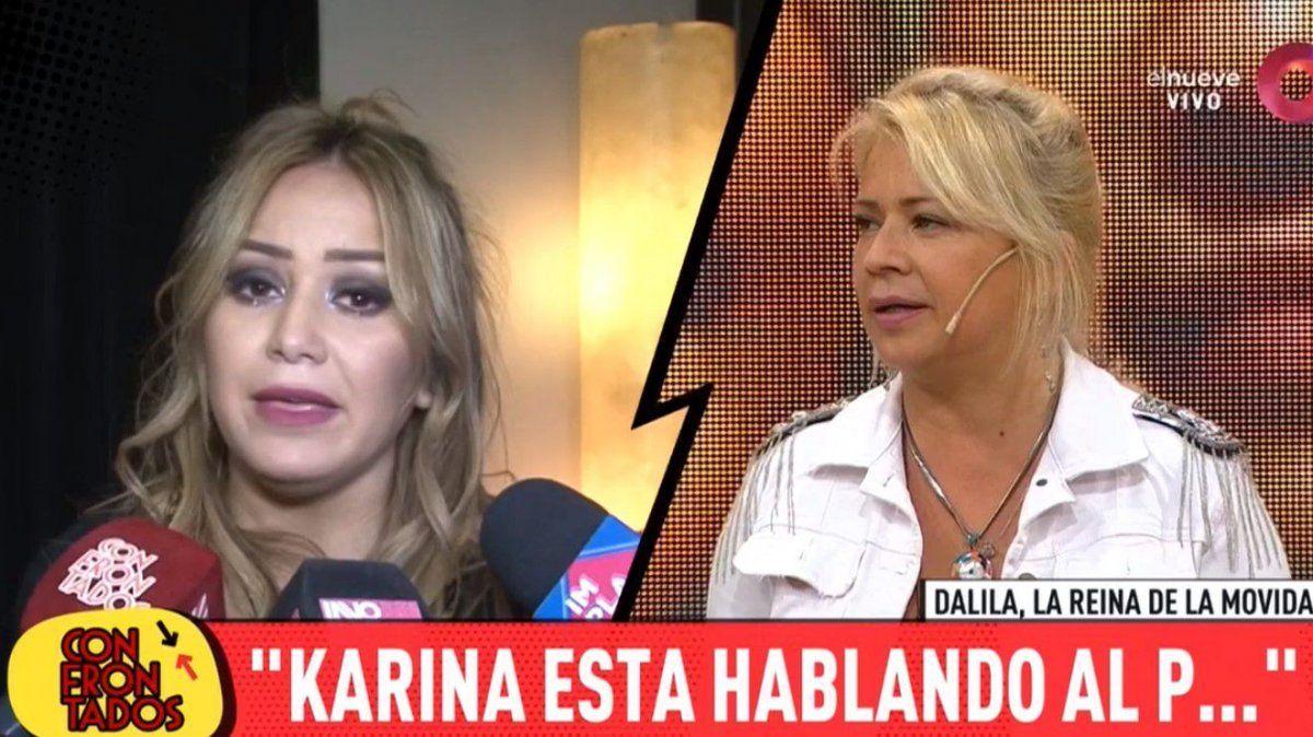 Dalila le respondió muy fuerte a La Princesita: Habla al pe.., se hace la estrella