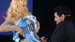 Susana Giménez muy triste por la muerte de Diego Maradona.