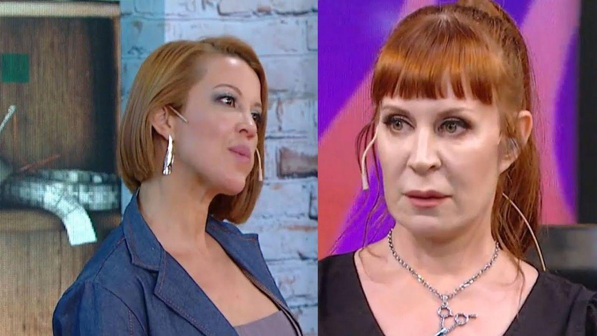 Se dijeron de todo: Miriam Lanzoni y Matilda Blanco se cruzaron en Corte y confección famosos
