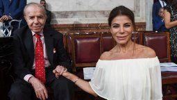 Carlos Menem se encuentra en un estado grave de salud