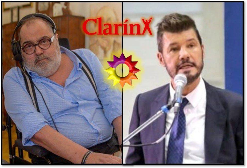 Jorge Lanata se metió en la guerra Tinelli-Clarín: El Trece sostiene que Clarín miente