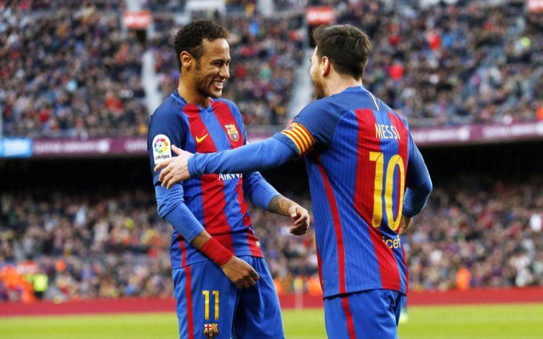 ¡Sorpresa! Lionel Messi y Neymar juntos