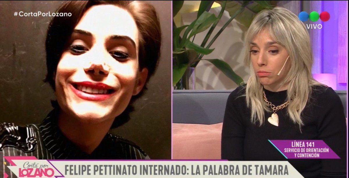 Felipe Pettinato está internado; su hermana Tamara habló de su salud: Él tiene un problema de adicción y necesita hacer un tratamiento