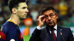 Messi le diría que no a Bartomeu pero sí entrenaría el lunes