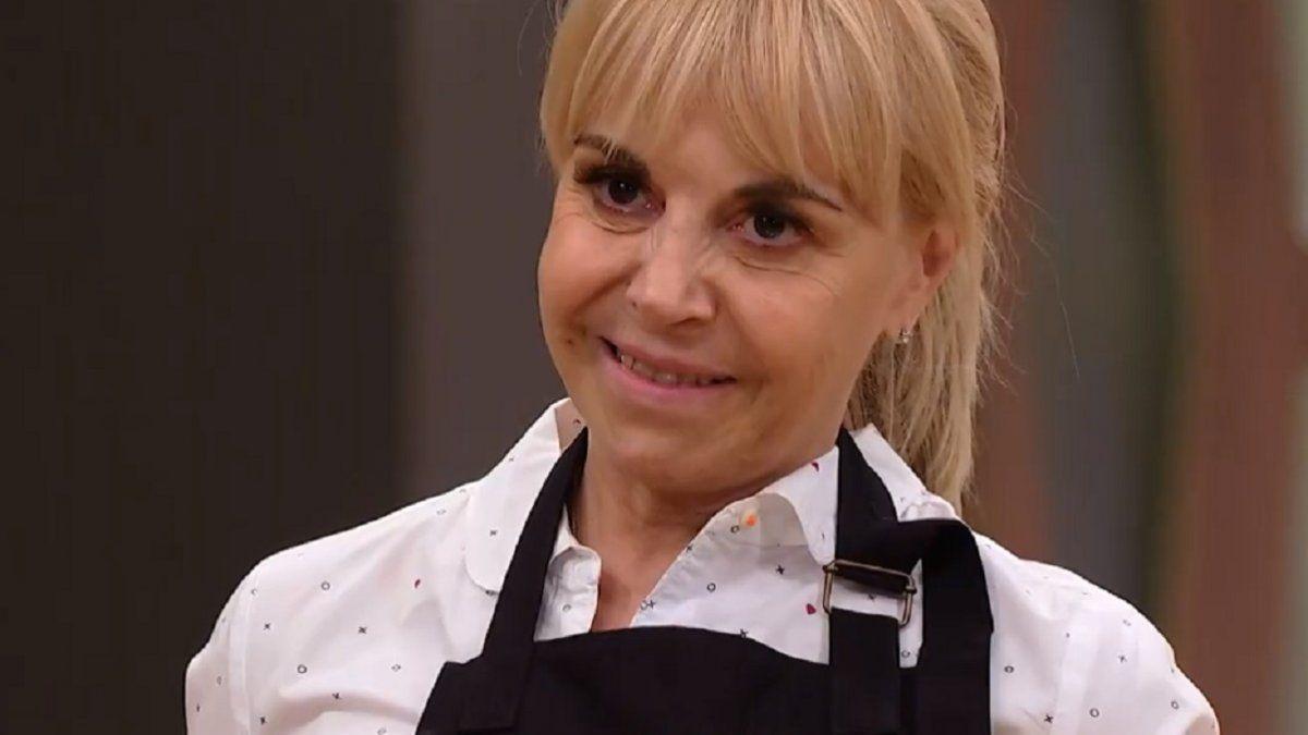 Claudia Villafañe regresó a las cocinas de Masterchef tras la muerte de Maradona