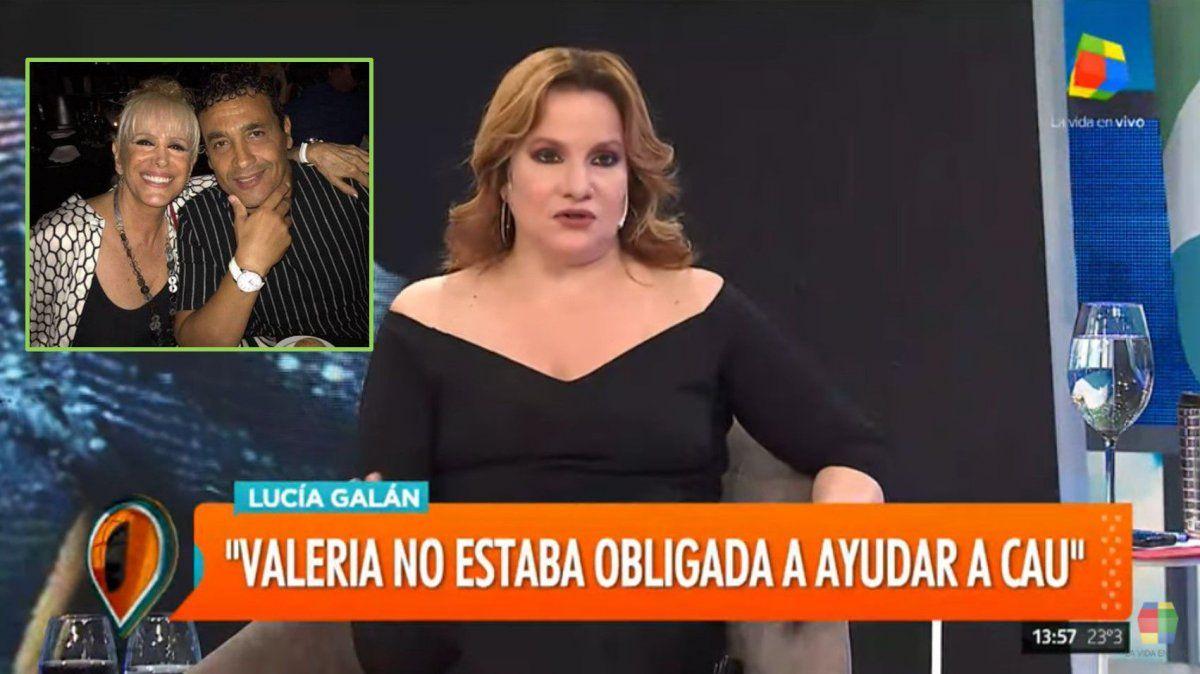 Lucía Galán destrozó a Cau Bornes y defendió a Valeria Lynch: ¿Qué hacía él antes?