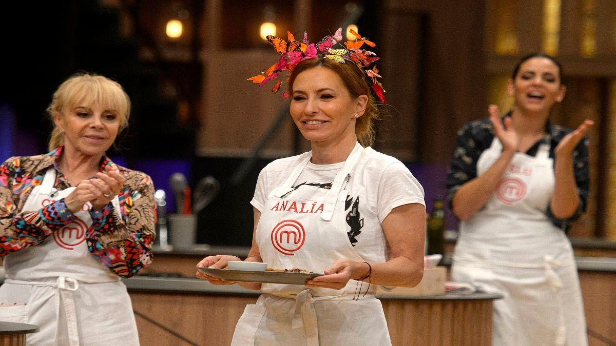 Analía Franchín preparó el mejor plato en lo que va de concurso pero no fue suficiente
