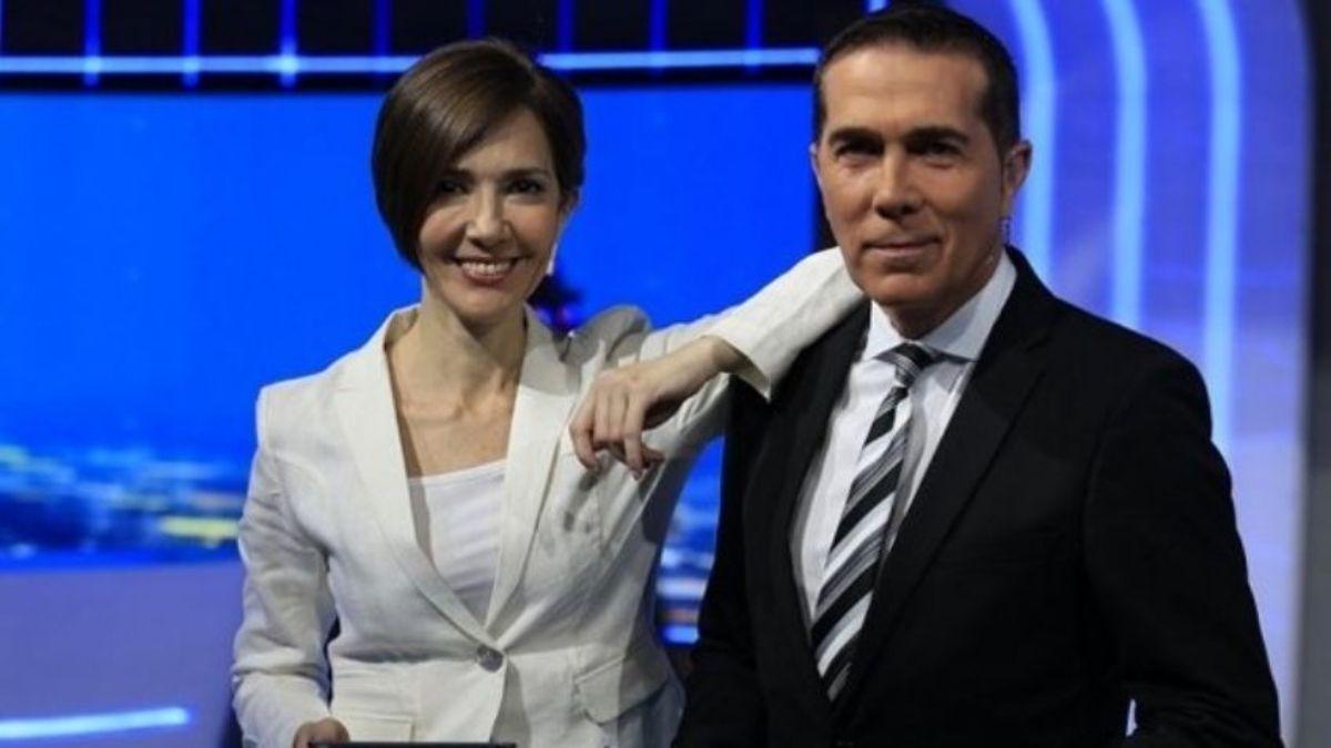 Cristina Pérez y Rodolfo Barili reciben los resultados de sus tests de coronavirus al aire
