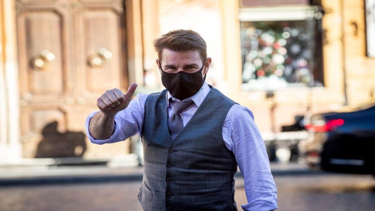 Tom Cruise debió suspender por tercera vez el rodaje de Misión Imposible 7 tras un nuevo caso de Covid dentro del equipo