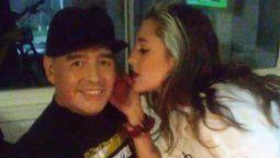 Jana Maradona en Navidad recordó a su padre
