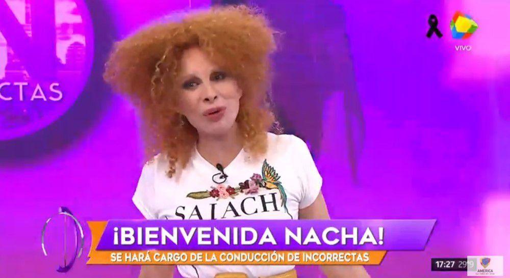 Así fue el debut de Nacha conduciendo el programa de Moria; a 27 años de Me gusta ser mujer
