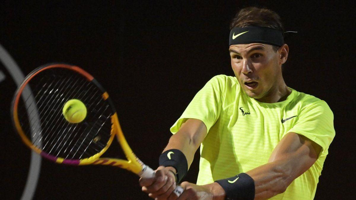 Rafa Nadal regresó y arrasó en su debut en Roma