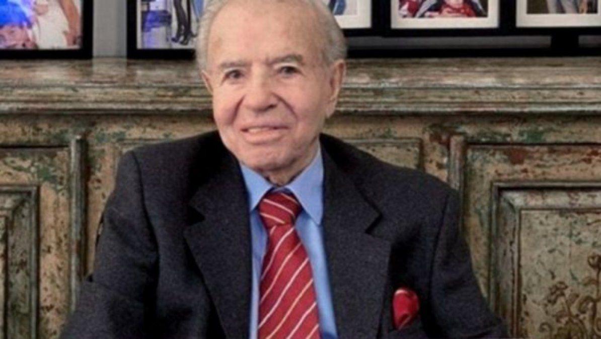 Falleció el expresidente Carlos Menem