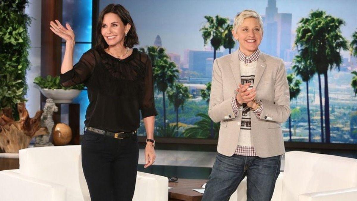 Courteney Cox y Ellen DeGeneres están compartiendo una mansión