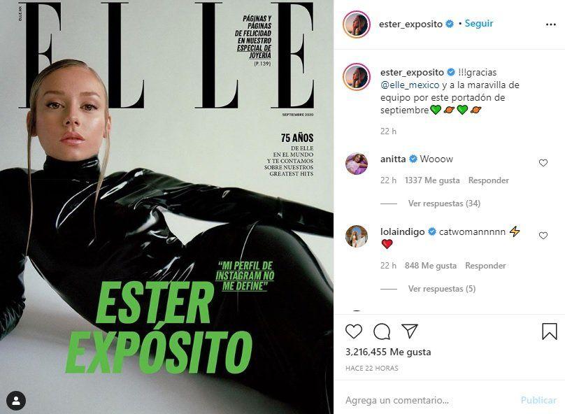 ¡De infarto! Ester Expósito se convirtió en Gatúbela