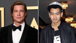 Revelan que Brad Pitt no la tiene nada fácil con su hijo Maddox