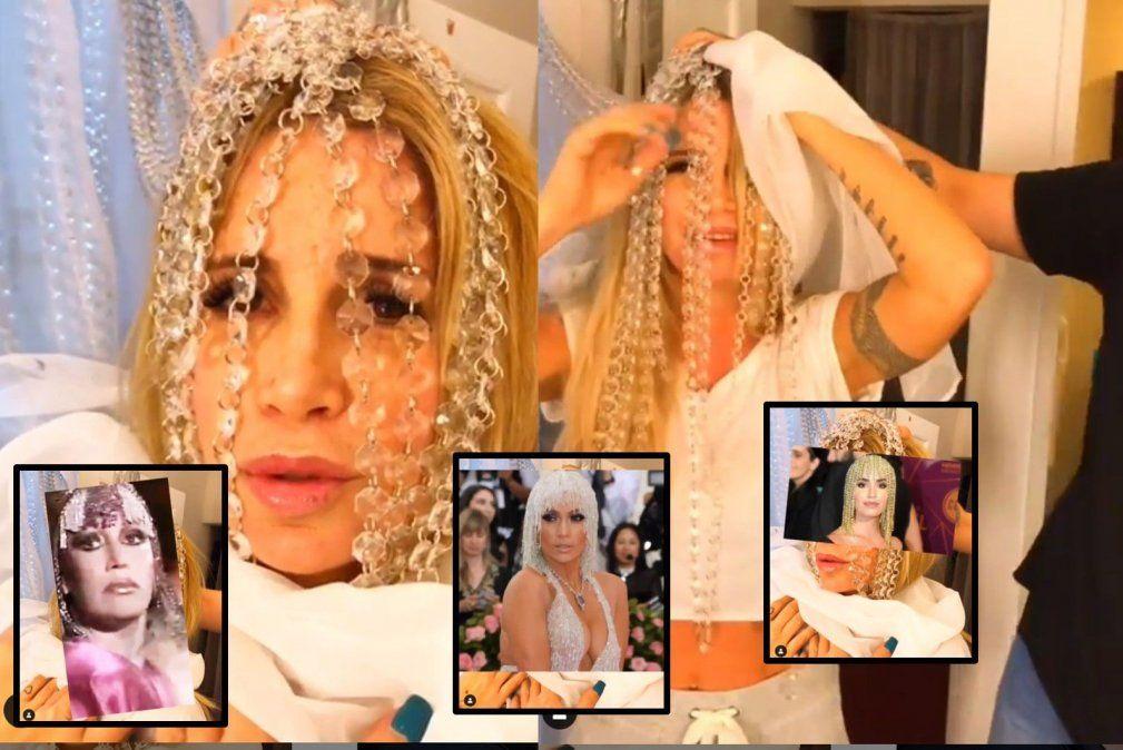 El divertido video de Flor Peña riéndose de la guerra de la peluca de Moria y Lali