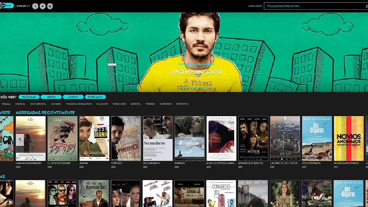 El cine argentino ahora se puede ver por streaming y gratuito