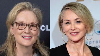 Sharon Stone y Meryl Streep trabajaron juntas en la cinta The Laundromat en 2019