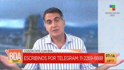 Antonio Laje cruzó a un televidente que lo insultó en vivo: Yo doy la cara y me la banco