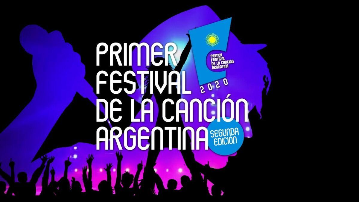 El primer Festival de la Canción Argentina se trasmitirá el próximo 30 de diciembre