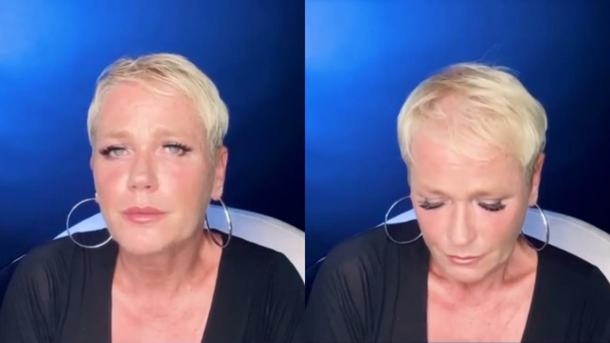 Xuxa contó una historia dramatica