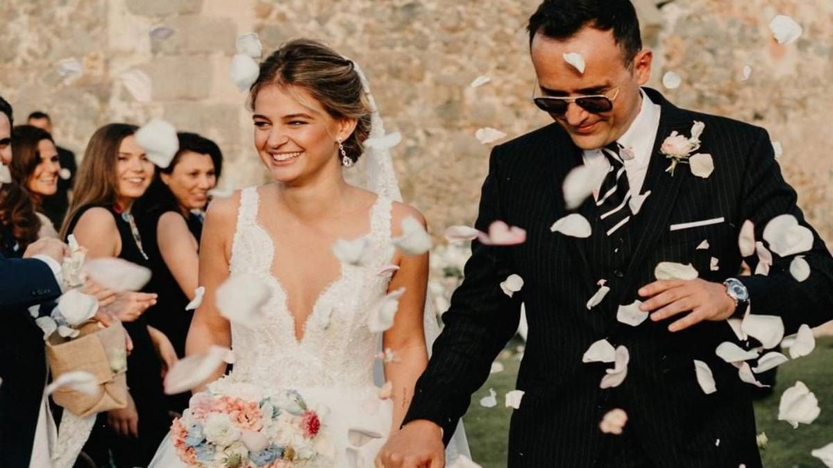 ¡De aniversario! Laura Escanes y Risto Mejide recueran su boda