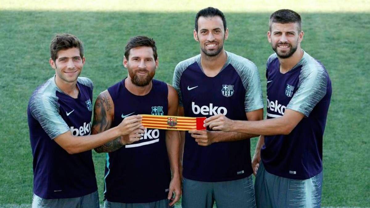 ¡Sin discusión! Lionel Messi seguirá siendo el capitán del Barcelona