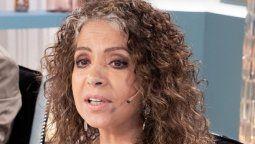 Patricia Sosa vivió un incomodo momento durante una nota en Flor de equipo