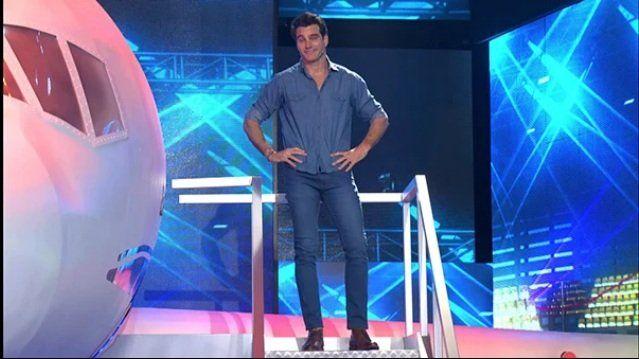 Outfit de Hernán Drago en Bienvenidos a bordo