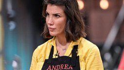 El dolor de Andrea Rincón en MasterChef Celebrity