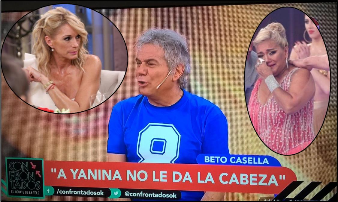 Casella lapidario: La bomba es una conventillera y mide más que Susana; y Yanina Latorre es una bruta