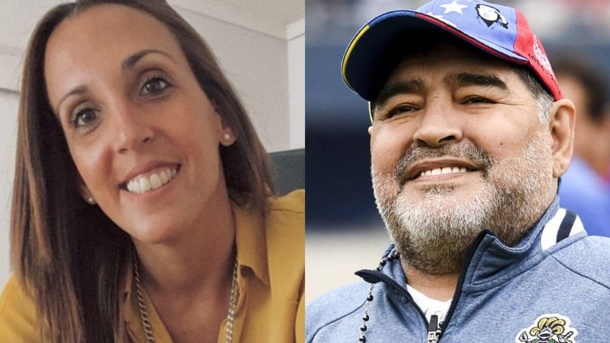 Agustina Cosachov fue la psiquiatra de Diego Maradona