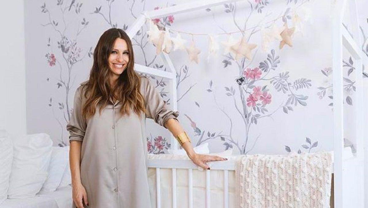 Pampita mostró cómo quedó el cuarto de su bebé