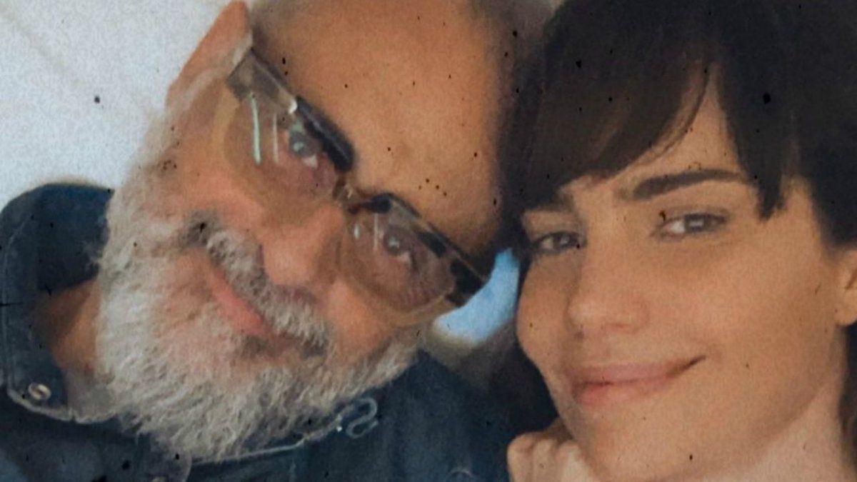 Romina Pereiro feliz por la decisión de Jorge Rial de cuidarse
