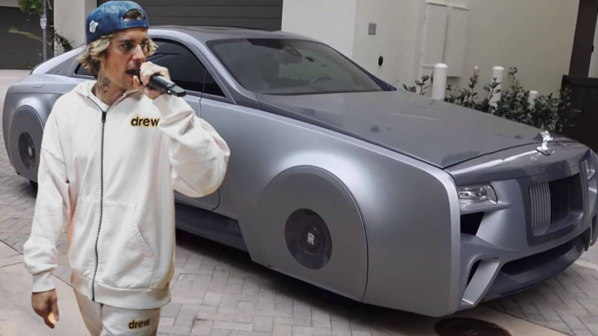 ¡Una nave! Justin Bieber modificó su Rolls Royce