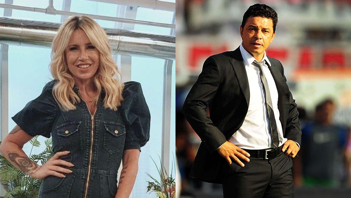 Flor Peña confesó que siente atracción por Marcelo Gallardo