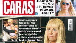 La primera entrevista de Claudia Villafañe luego de la muerte de Diego Maradona