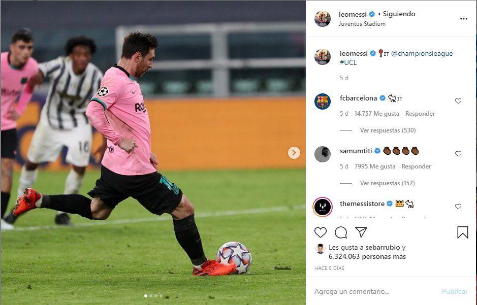 Hace 5 días Lionel Messi jugó contra la Juve. ¿Podría dejar el Barcelona para irse a El Calcio?