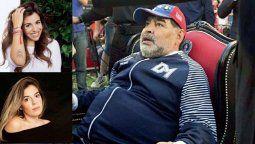 Nuevos audios de la psiquiatra y el psicólogo de Diego Maradona donde nombran a las hijas.