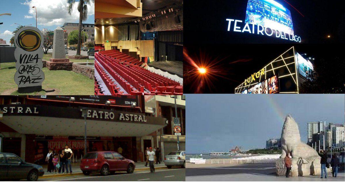 Mar del Plata y Carlos Paz se preparan para la temporada con los mejores precios y obras teatrales