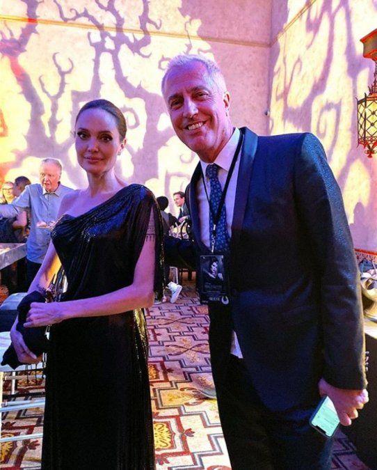El famoso conductor argentino que estuvo en Hollywood con Angelina Jolie